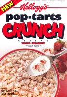Kellogg's pop-tarts Crunch Frosted Strawberry Cereal
