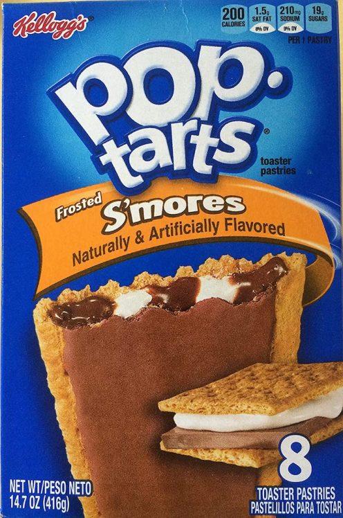 Kellogg's pop-tarts Frosted S'mores 8er 416G