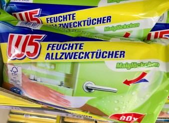 Lidl W5 Allzwecktücher Maiglöckchen-Duft