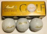 Lindt Golf Balls 3 Schokoladenbälle im Look von Golfbällen