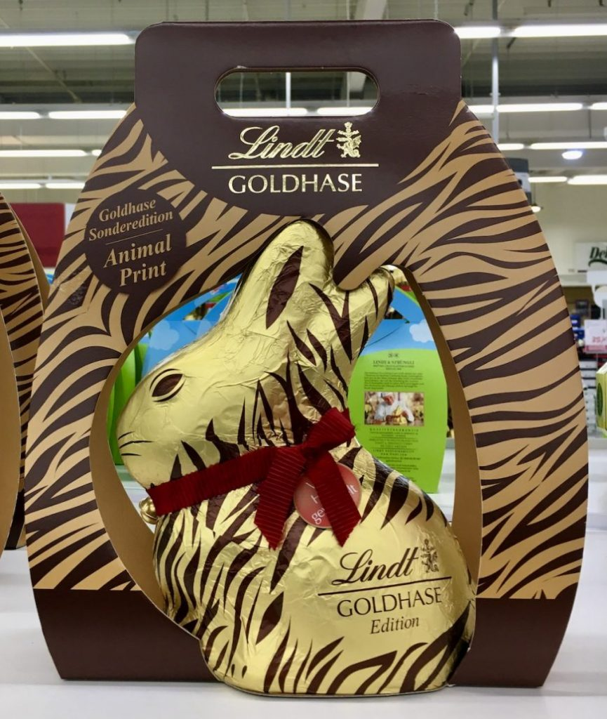 Lindt Goldhase Animal Print Edition Ostern 2020