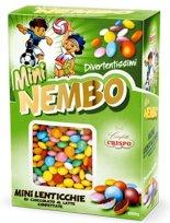 Mini Nembo Confetti Crispo Mini Lenticchie Schokolinsen 1000G