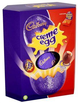 Mondelez Cadbury Creme Egg Giant Easter Egg+5 Cadbury creme eggs