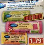 MultiTEC Müllbeutel mit Zitrusduft-Himbeere+Vanille-Mangoduft