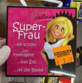 Norma Chocolate Praline Superfrau Muttertag