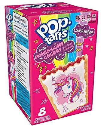Pop Tarts Sparkle-Licious Chery Rainbow Unicorn 8er