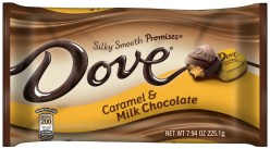 Mars Dove Caramel + Milk Chocolate