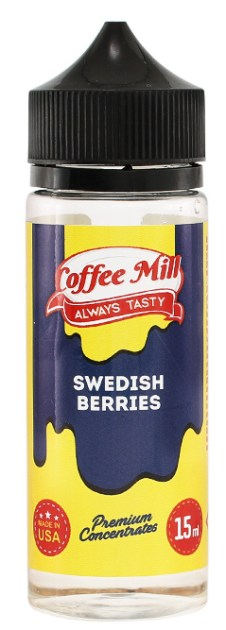 e-liquid coffee mill Swedish Berries 15ml