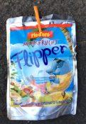 rio d'oro Mehrfrucht Flipper Erfrischungsgetränkin Alutüte