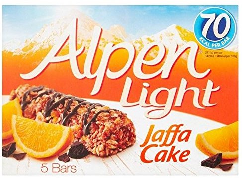 Alpen Light Jaffa Cake 5 Bars