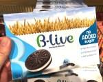 B-live Sandwich Biscuit Oreo Black&White no added Sugar-High Fiber-45% reduced Salt-Sonnenblumenöl 176G