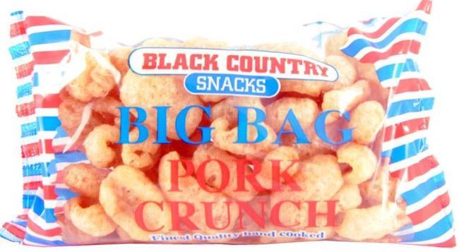 Black Country Pork Crunch Big Bag Schweineschwarten 80g