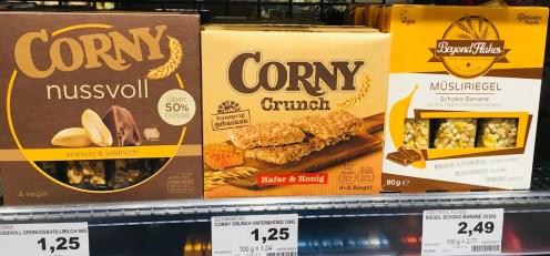 Schwartau Corny Crunch Hafer + Honig.