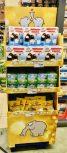 EDEKA Ottifanten Display Zweitplatzierung Schokoküsse -Tee-Fruchtgummi