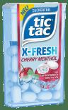 Ferrero tictac X-Fresh Cherry Menthol mit Kristallen
