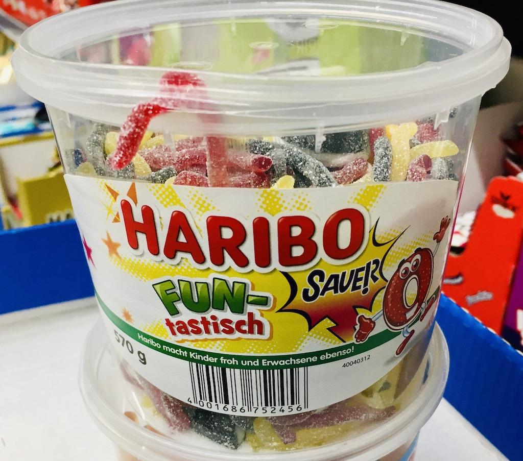 Haribo FUN-tastisch sauer 570G Runddose