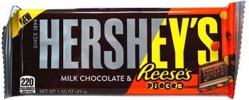 Hershey's Milk Chocolate+Reese's Pieces Candy Schokoriegel 43g