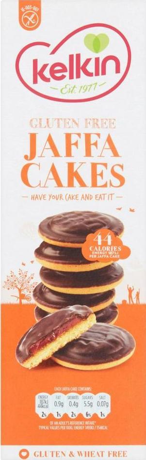 Kelkin Gluten free Jaffa Cakes 150g