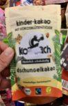 Koawach kinder-kakao dschungelkakao Beutel