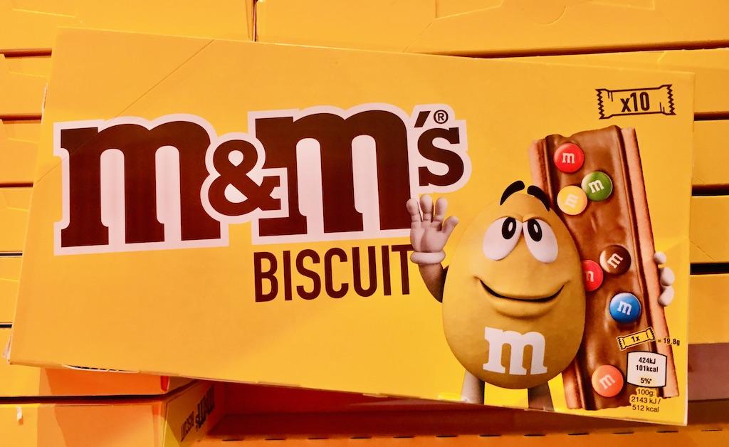 Mars M+M's Biscuit mit SChokolinsen 10er