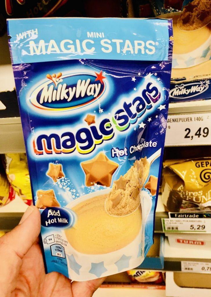 MilkyWay Magic Stars Kakaopulver Hot Chocoalte
