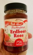 Norma Tante Klara Erdbeer-Rose Marmelade 75% Frucht