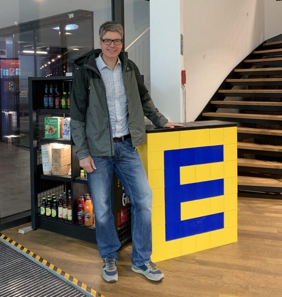 Oliver Numrich im EDEKA Food Tech Campus