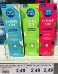 Perl Weiss Shine On Whitening Zahncreme kokos+minze-ingwer+minze-acai+minze