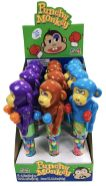 Punchy Monkey Display Spielzeug Bonbons