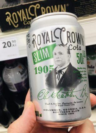 Royal Crown Cola Slim 1905 Kalorienreduziert Tschechien