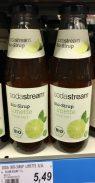 Sodastream Bio-Sirup Limette Glasflasche