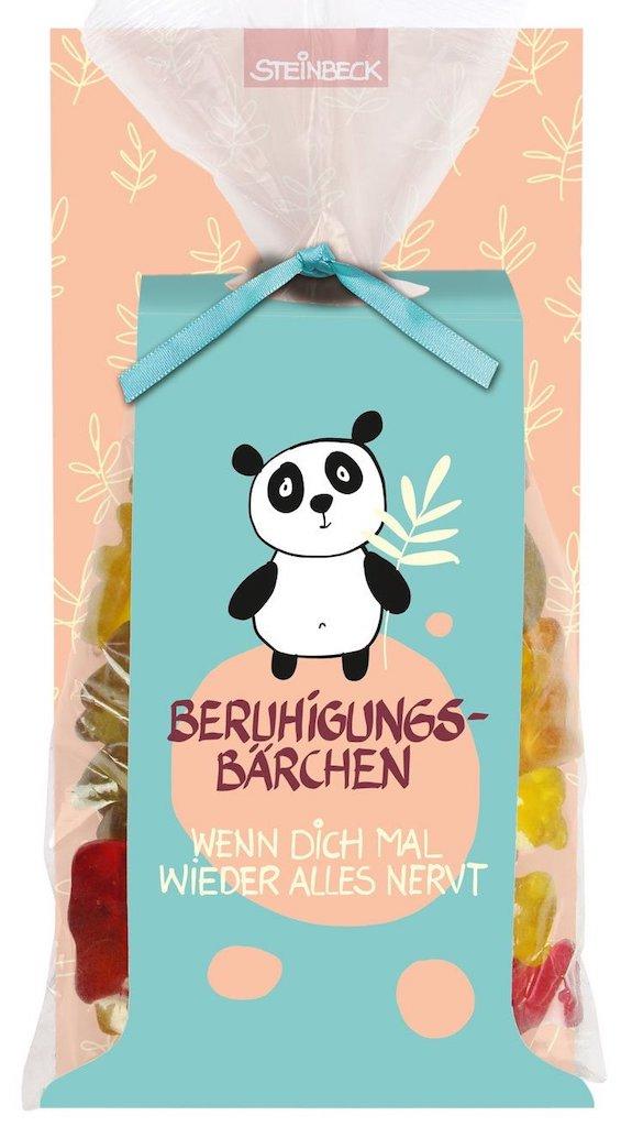 Steinbeck Beruhigungsbärchen Fruchtgummi Panda-Motiv