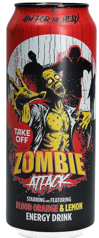 Take Off Energydrink Zombie attack bloodorange 500ml