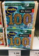 WASA Knäckebrot wir feiern 100 Jahre