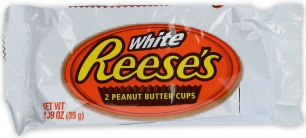 White Reese's 2 peanut Butter Cups 39G