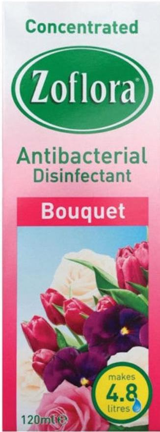 Zoflora Antibacterial Disinfectant Bouquet 120ml