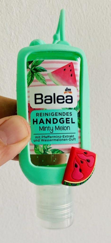 dm Balea Reinigendes Handgel Minty Melon Pfefferminz und Wassermelonen-Duft