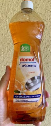 domol Spülmittel Orange