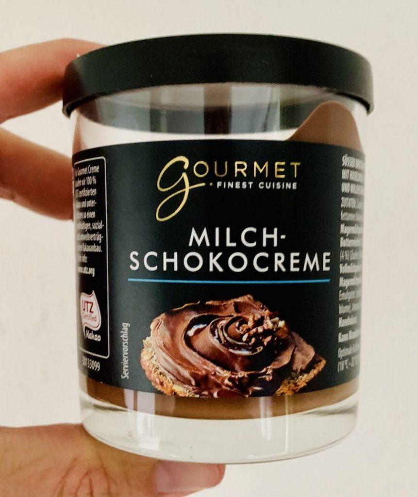 ALDI Gourmet Milch-Schokocreme