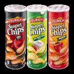 Aldi Feurich Stapelchips Chili-Geschmack-Sour Cream+Onion-Paprika 175G