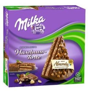B+F Bakery & Food Almondy Milka Haselnuss-Torte