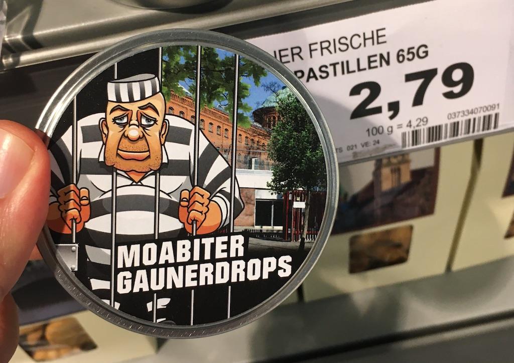 Berliner Frische Moabiter Gaunerdrops Pastillen 65G