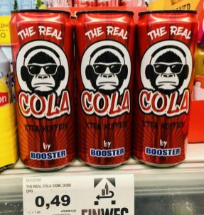 Booster The Real Cola Xtra Koffein