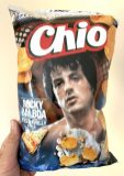 Chio Chips Special Edition Rocky Balboa Pizza Philly Style 150G