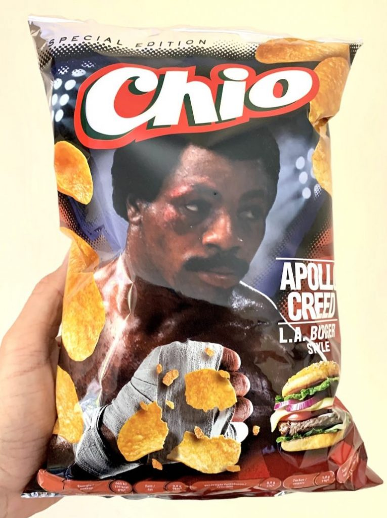 Chios Chips Special Edition Apollo Creed L-A-Burger Style 150G