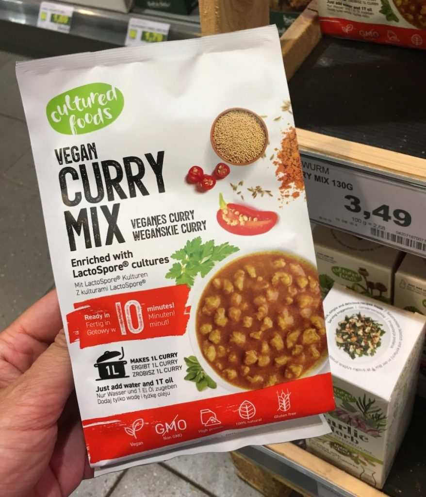 Cultured Foods Vegan Curry Mix Veganes Curry