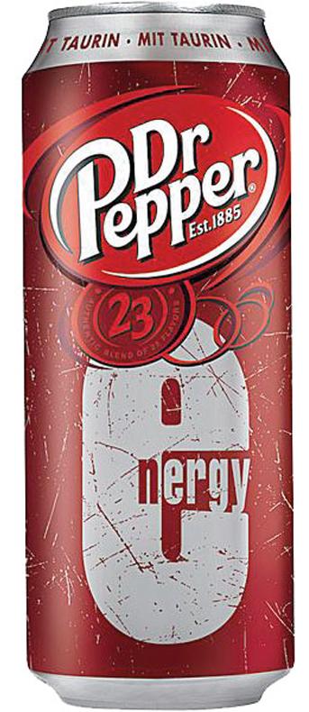 Dr. Pepper Energydrink 500ml Getränkedose