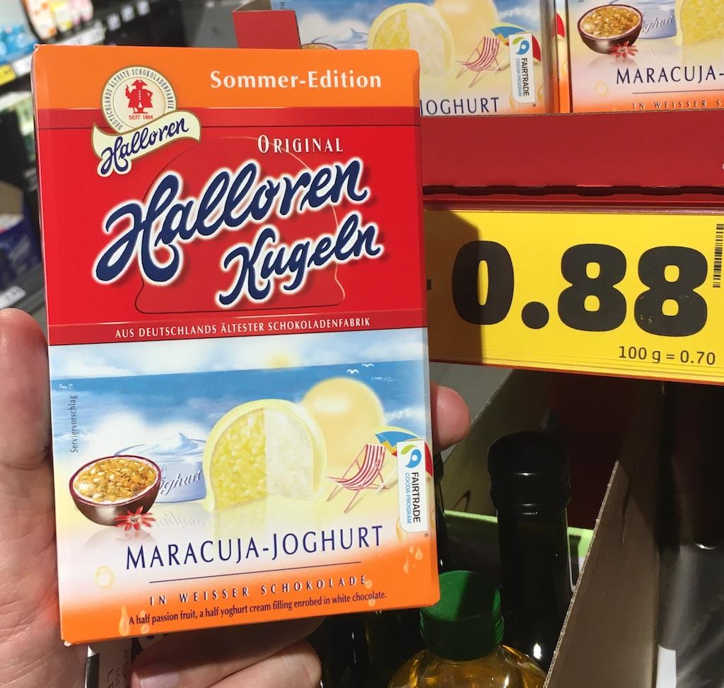 Halloren-Kugeln Sommer-Edition Maracuja-Joghurt