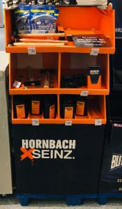 Hornbach Seinz im dm-Markt POS-Display