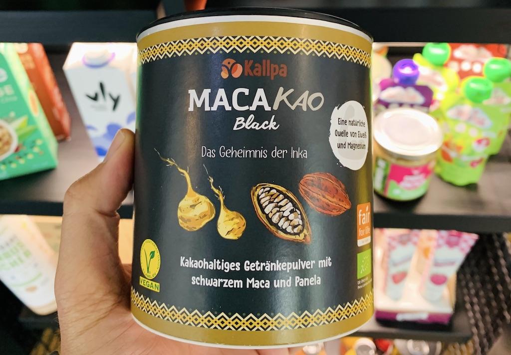 Kallpa MacaKaoDas Geheimnis der Inka Kakaohaltiges Getränkepulver mit schwarzem Maca und Panela